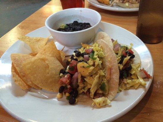 The Trailhead : The Gulley Creek aka fish tacos. Delish!