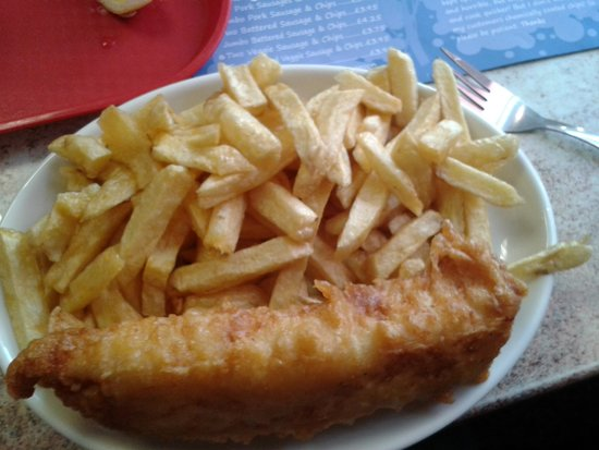 Park RD Fish and Chip Shop: This is what you get