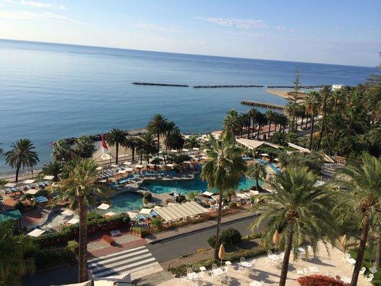 Royal Hotel Sanremo: Zimmer mit Meerblick