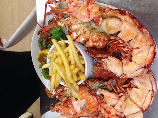 Limestone: Lulworth lobster