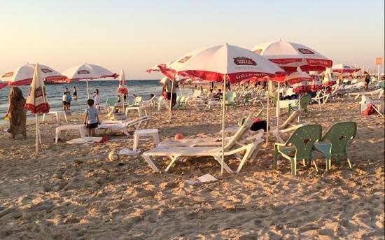 Frishman Beach : late afternoon light at Frischman Beach
