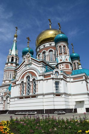 Assumption Cathedral (Uspenskij sobor): Uspenski Cathedral, Omsk