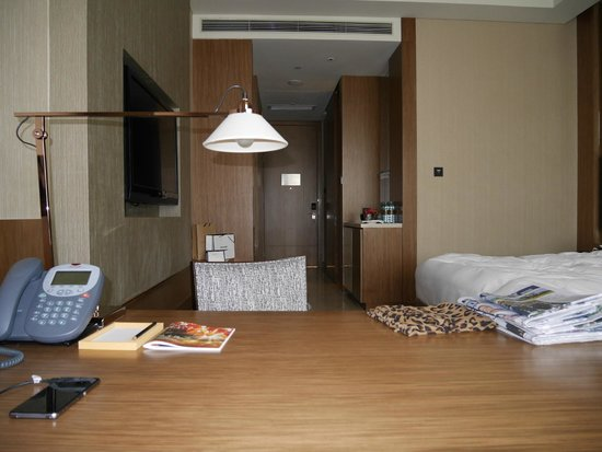 Hyatt Regency Guiyang: View from desk towards door