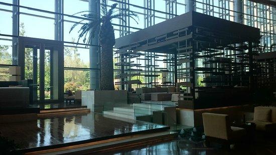 Hyatt Regency Guiyang: Lounge/bar area downstairs from the lobby.