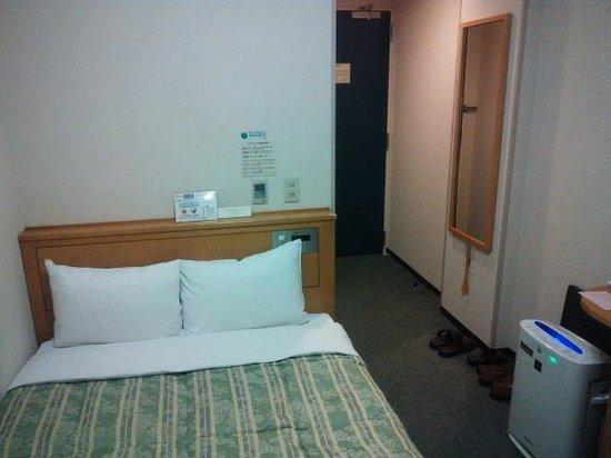 Hotel Route Inn Osaka Honmachi : シングルルーム