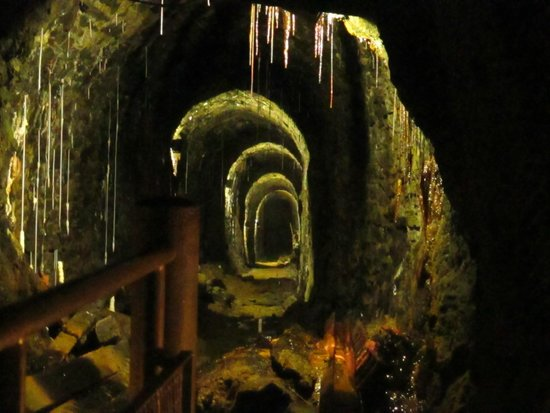 Rammelsberg Weihnachtsmarkt.The 1000 Years Old Underground Mine Picture Of Weltkulturerbe