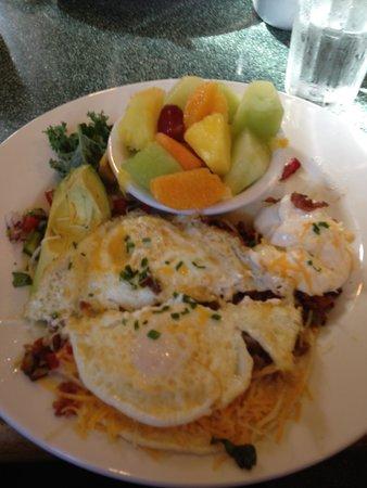 Egg River Cafe : Yummy huevos rancheros