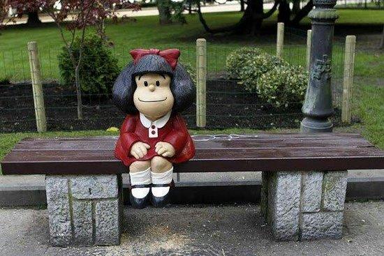 Esculturas de Oviedo: Mafalda