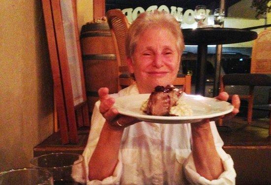 Pomodori Bistro & Wine Bar: Yummy lamb chops with risotto
