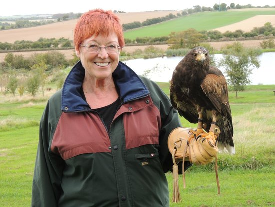 Dublin Falconry : I'm soooo happy!