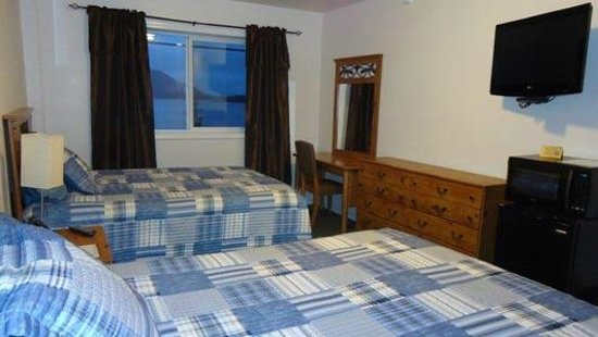 Sitka's Eagle Bay Inn: Very clean and newly updated rooms!