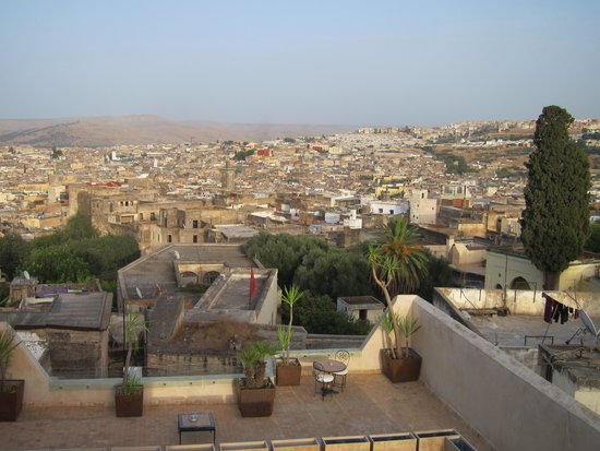 Riad Fes - Relais & Chateaux: View from Terrace