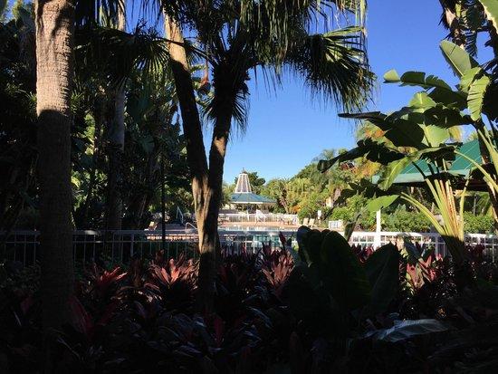 Clarion Hotel & Conference Center: Local proximo a piscina