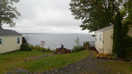 Glenmoor by the Sea : View from cabins