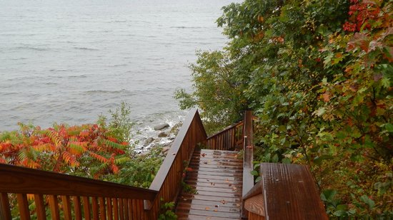 Glenmoor by the Sea : View from walk down to bay