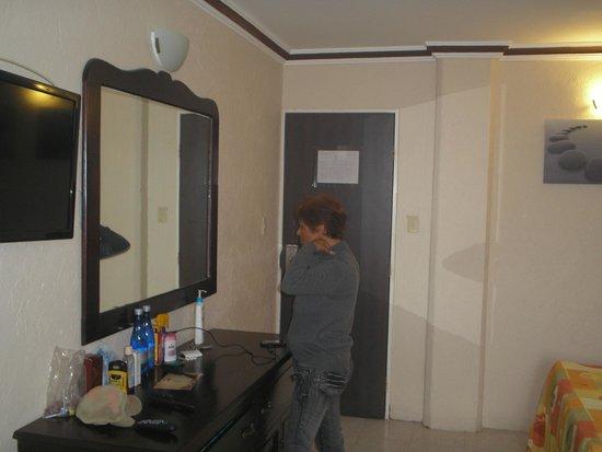 Acuario de Veracruz Hotel: en la habitacion