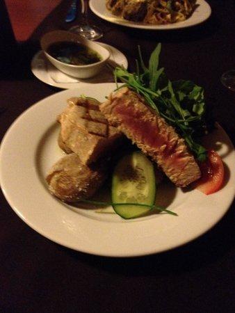 Caldeiras & Vulcoes Restaurante: Fresh tuna was wonderful and huge portion.