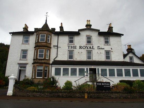 The Royal an Lochan: The hotel.