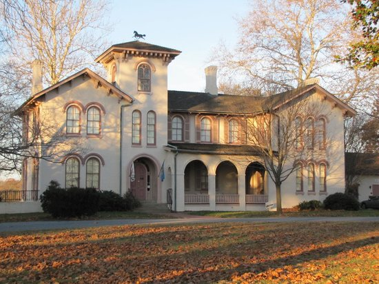 Seaford, DE: Ross Mansion in the autumn