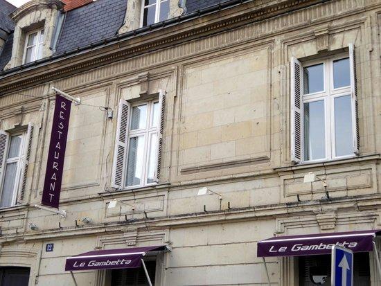 Restaurant le Gambetta: Le restaurant, le Gambetta à Saumur