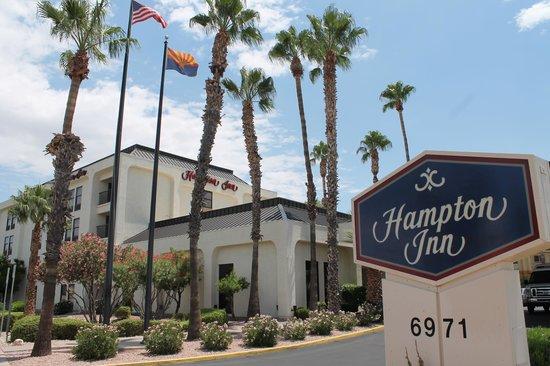 Hampton Inn Tucson-Airport : Hampton Inn entrance