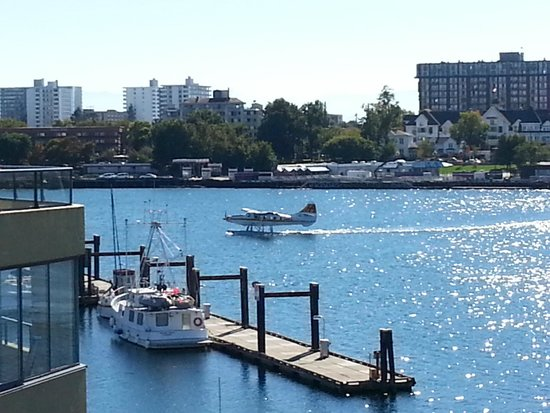 Victoria Regent Hotel : Float planes all day, not noisy.