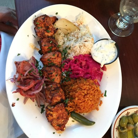 sahara restaurant: Chicken kebab