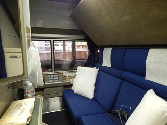 california zephyr bedroom accomodations