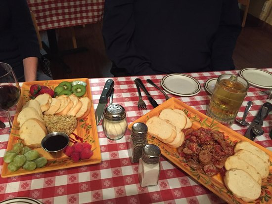 Panora, IA: Brie and sausage appetizers - our favorites!
