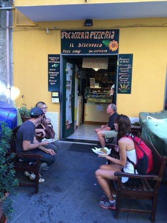 Il Discovolo: Fantastic take-away