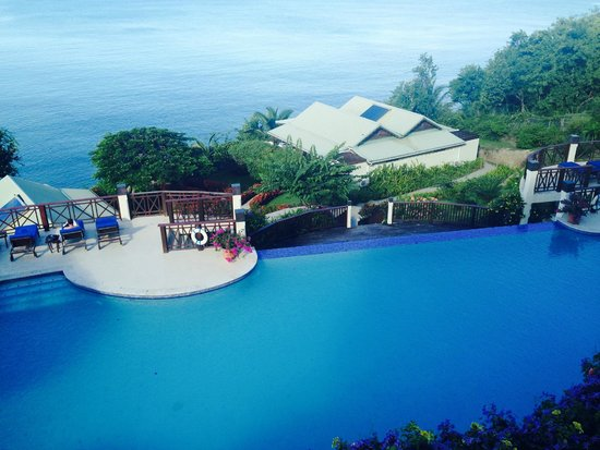 Calabash Cove Resort and Spa: View from the hotel