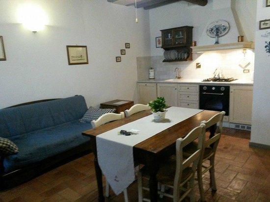 Montespertoli, Italia: Apartment #7 - Living Room