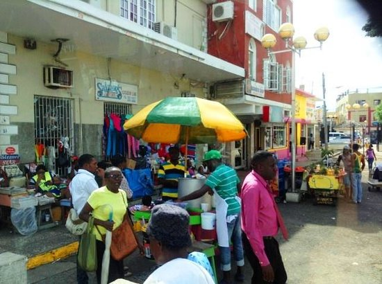 Sam Sharpe Square: Glimpses of the Area Market