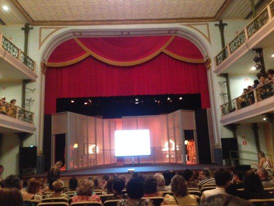 Deodoro Theater : Cenário!