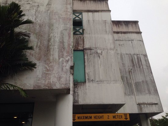 Likas Square Apartment Hotel: Mold on the walls
