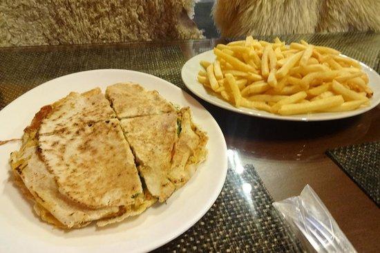 Sanduiche Beiruth : muito bem servido