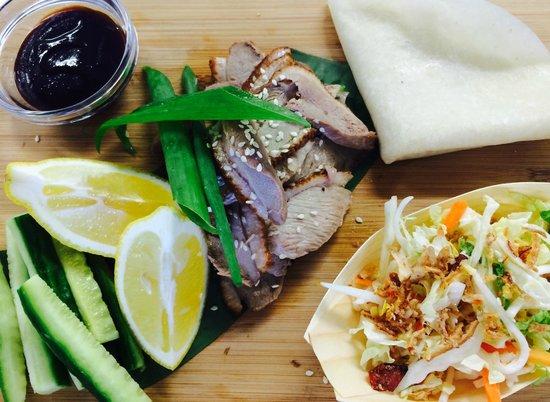DIY Peking Duck Pancakes Picture of Asian Kitchen Phillip Island