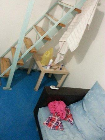 Sayang-Sayang 2 Youth Hostel: The downstairs area~