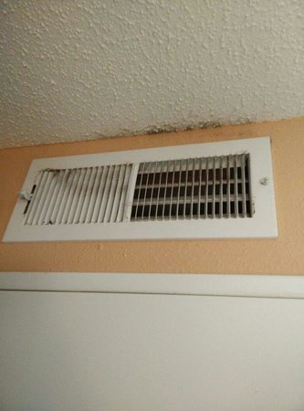 GrandStay Hotel & Conference Apple Valley: Dusty vent