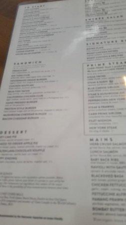 Joeys Menu Restaurants
