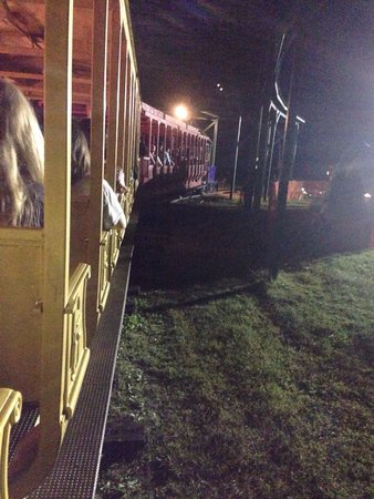 Historic Jefferson Railway : Pulling out on the Fright Train