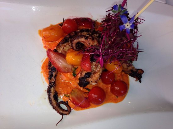 Can Oba Restaurant: Octopus and rissoto