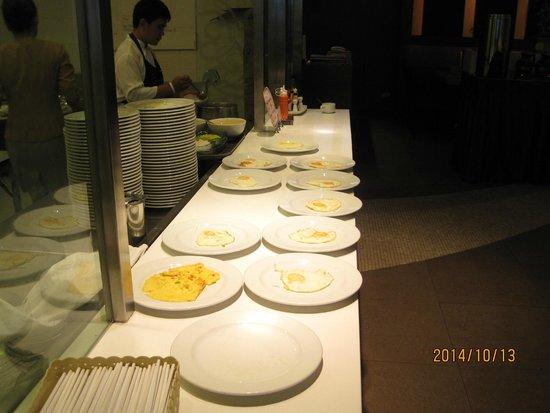 Hip Bangkok: Egg corner for breakfast buffet