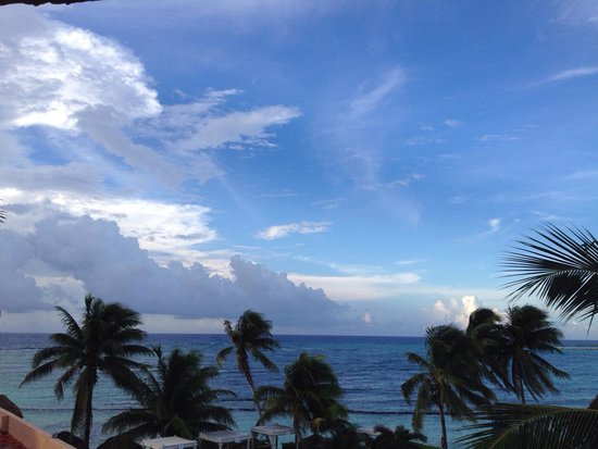 Omni Puerto Aventuras Beach Resort: Vista desde la habitación