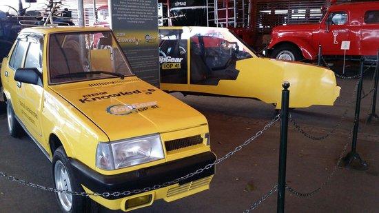 Top Gear Car Split In Half Picture Of Rahmi M Koc Museum