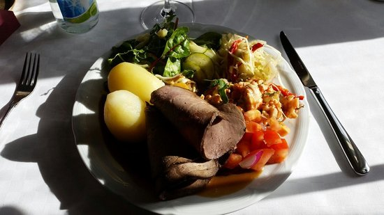 Fredensborgs Herrgard: Lunch buffee