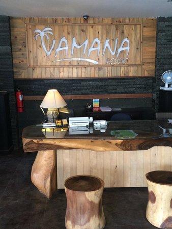 Vamana Resort: Reception