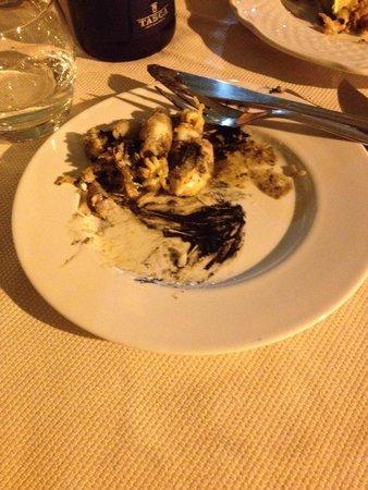 Ristorantino da Spano : fritturina di cappuccetti molliccia e con tutto il nero dentro
