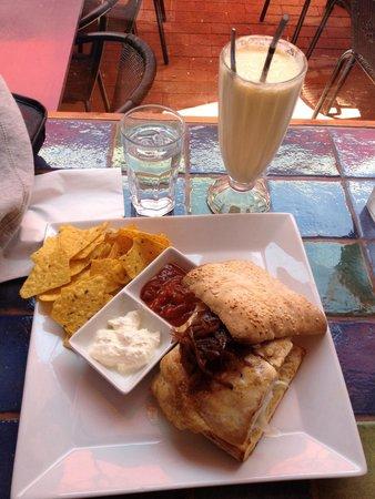 Katja's Kafe: I like the sauce they made by themself