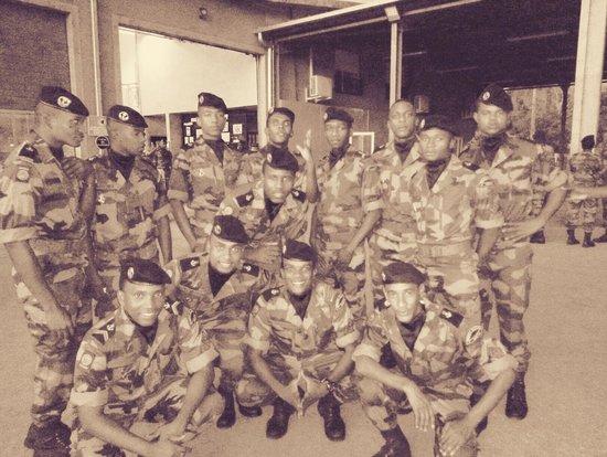 Hajangoua, Mayotte: les militaires